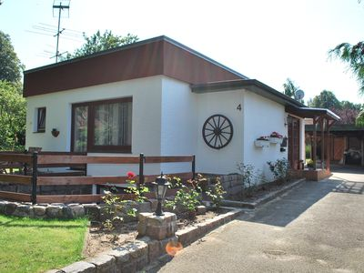 Holiday home for 2-8 people with garden near the Baltic Sea, dogs welcome