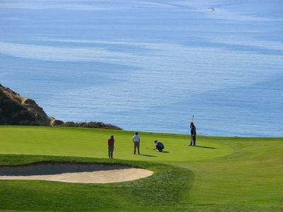 World famous Torrey Pines Golf Course ~ 20 minutes drive south