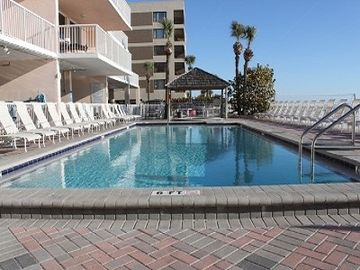 Madeira Beach condo rental - Pool and Hot Tub, right on the beach.
