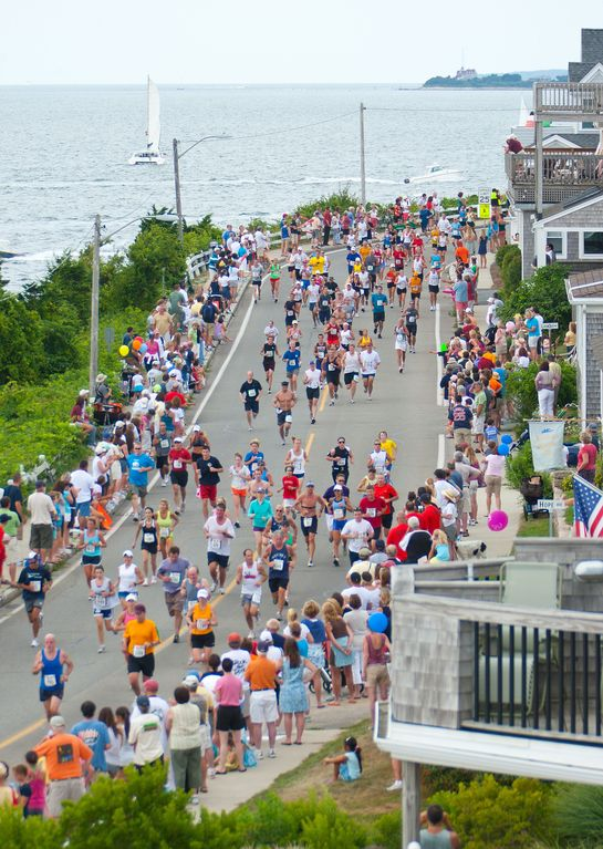 Falmouth road race: Starts in Woods Hole & finishes at Falmouth Heights Beach