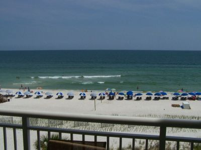 Unobstructed Beach and Gulf View From the Balcony