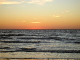 Galveston condo photo - sunrise on beach