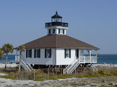 Historic Boca Grande Lighthouse at BG Pass (tarpon fishing)