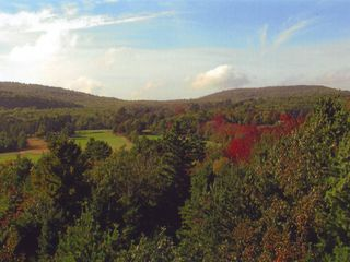 Bar Harbor house photo - View of Kebo Golf Course and start of Cadallic Mountain