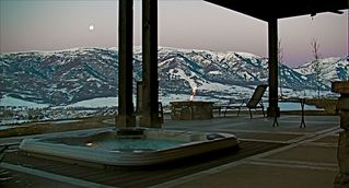 Snowbasin house photo - Soak the aches away in your Private hot tub