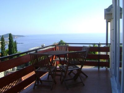 Dubrovnik apartment rental - Main terrace