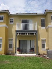 Emerald Island townhome photo - patio and balcony