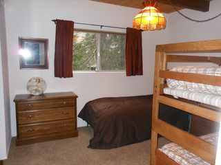 Lake Arrowhead house photo - Bedroom 2 - sleeps 4