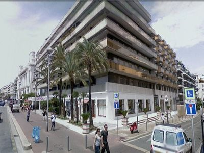 Promenade des Anglais apartment rental - Apartment Block Exterior