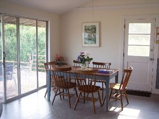 Chilmark cottage photo - Dining