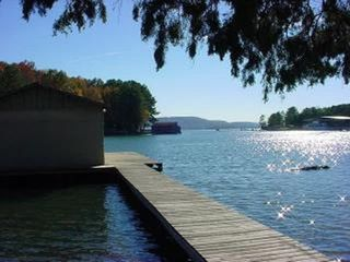 Guntersville Lake house photo - Guntersville Getaway Dock