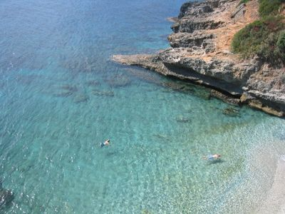 Skala villa rental - Dive into crystal clear waters in a few steps...