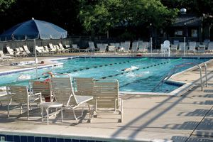Harbor Springs house rental - Heated pool next to Club House