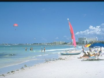 Para-sailing, sun bathing, rent a kayak or paddle board, snorkel, beach walking