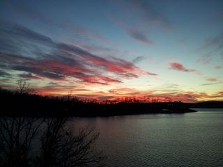 Lake Ozark house photo - Sunset View from the deck