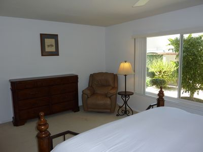 Arm Chair in Master Bedroom