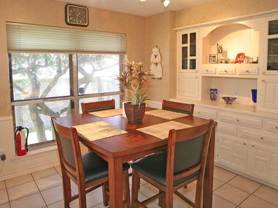 Dining area with kitchen table