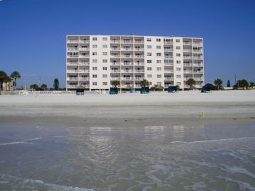 Madeira Beach condo rental - Sea Breeze from the beach. unit 405 directly in the middle 4th floor.