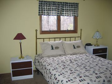 Cozy upstairs bedroom also with cable TV & dresser
