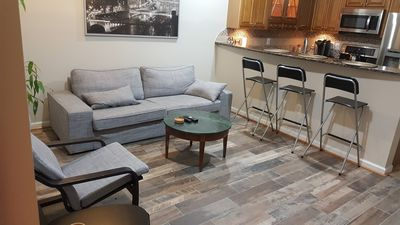 COZY 2 BEDROOM APT. WITH PRIVATE PARKING