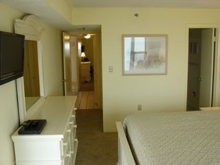Vacation Homes in Ocean City condo photo - View to Hall from Master and Private Bath door on Right