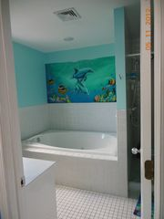 Holgate house photo - Master bath with Jacuzzi