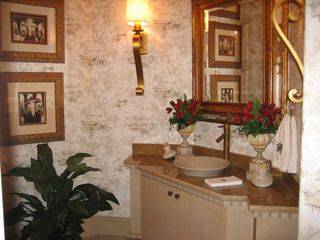 Bonita Springs estate photo - Powder Room