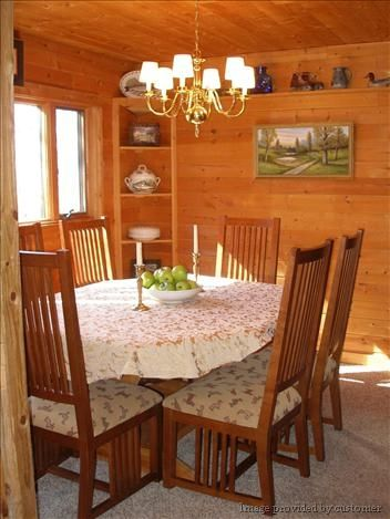 Plenty of Dining Space for Family and Friends.