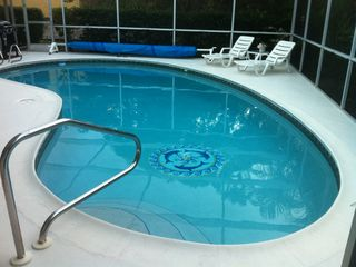 Vacation Homes in Marco Island house photo - One Cool Heated Pool!