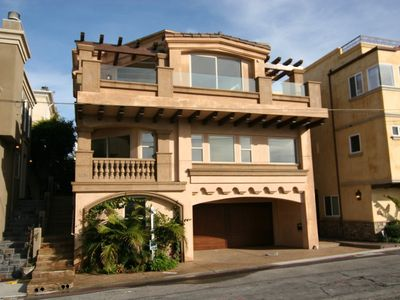 Hermosa Beach townhome rental - Front of Home
