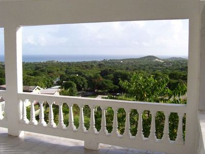 Vieques house rental - View From The Balcony