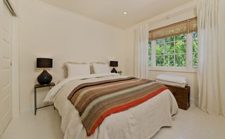 West Hollywood villa photo - second bedroom, Four Seasons queen bed, DirecTV