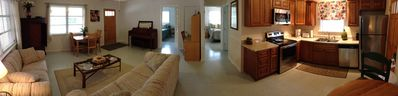 Panoramic of Open Floor Plan...