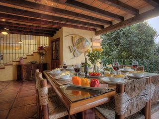 Outdoor Covered Dining Area - Puerto Vallarta villa vacation rental photo