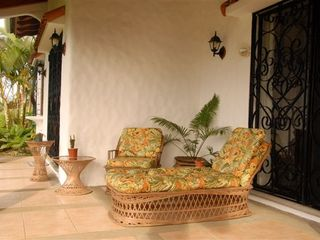 Nuevo Arenal house photo - Our deck is fully furnished for comfort!