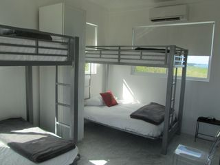 Governor's Harbour villa photo - Kids room with 2 full size bunk beds on bottom, twin bed on top with ocean views
