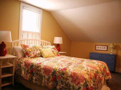 Lakeside cottage rental - Queen Size Bed in spacious Master Bedroom on 2nd floor