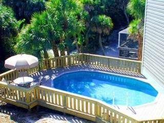 North Captiva Island house photo - Enjoy both sun and shade. 6 lounge chairs on deck as well