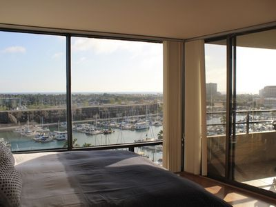 Master Suite with Marina and Ocean views