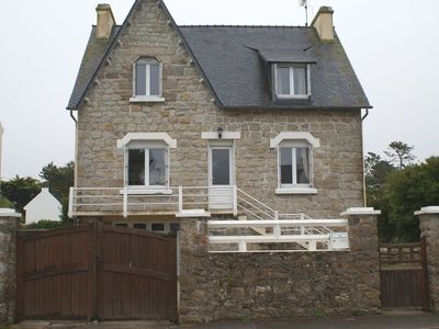 Character villa 150m from the beach in Porspoder