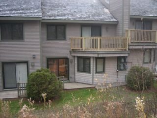 Jay Peak condo photo - Step out slider, ski right down to lifts!