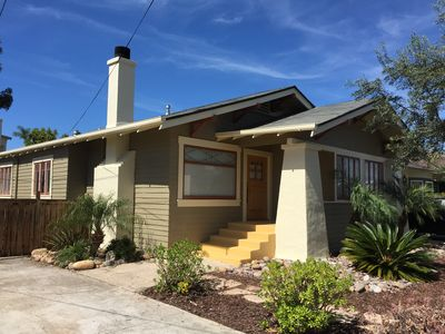 3 Br & 3 Baths. Charming, Stylish and Fun. Air Conditioned! Great location!