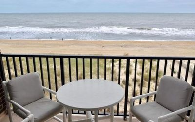 Gorgeous Ocean Views - Oceanfront 2-BR in Mid-Town Ocean City (59th St)