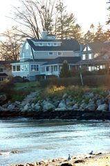 Groton house photo - Amazing new home with gorgeous ocean view and water access