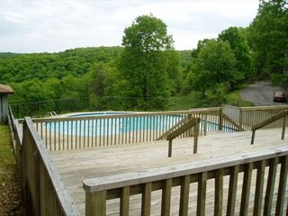 Branson townhome photo - 2 swimming pools with a view of the Ozarks