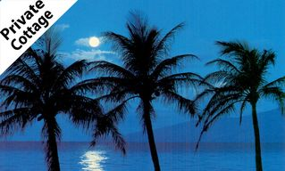 Kihei cottage photo - Moonset 2 blocks from cottage!