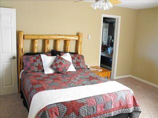 Angel Fire house photo - 2nd Bedroom w/Queen Aspen Americana Bed (upper level)