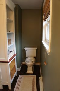 Nantucket Town house rental - Half bathroom