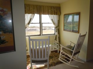 Harbor Island house photo - View of ocean from the comfortable upstairs bedroom