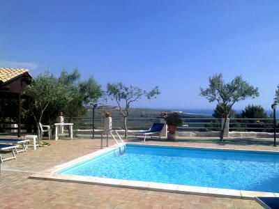 Oasi del Borgo - Saturn | apartment sea view, pool, wifi, jacuzzi, climate